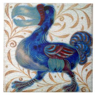 Azulejo De Cerámica Cerámica del Dodo de Guillermo De Morgan The