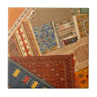 Azulejo De Cerámica Cierre del collage de la alfombra para arriba