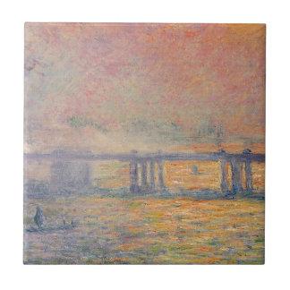 Azulejo De Cerámica Claude Monet - Saint Louis del puente cruzado de