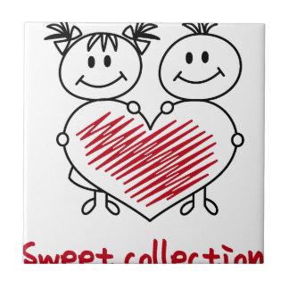 Azulejo De Cerámica colección dulce del amor