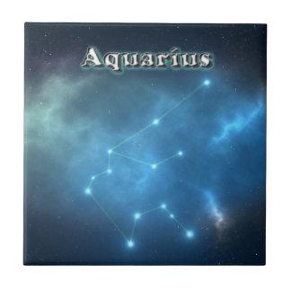 Azulejo De Cerámica Constelación del acuario