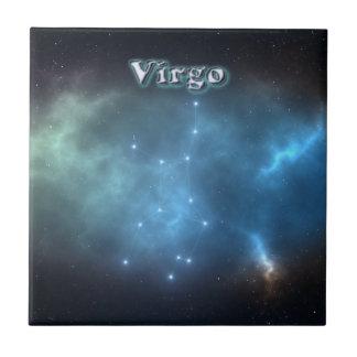 Azulejo De Cerámica Constelación del virgo