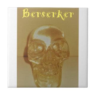 Azulejo De Cerámica Cráneo de Berserker