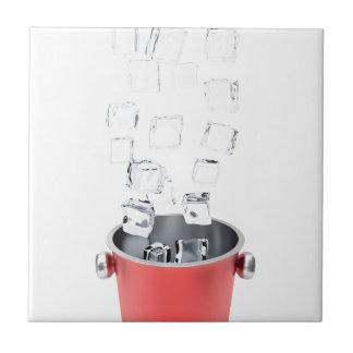 Azulejo De Cerámica Cubo de hielo