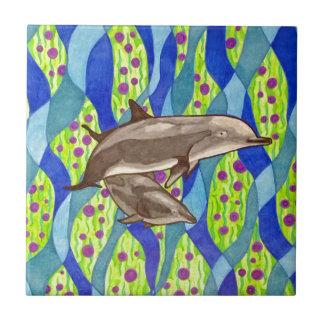 Azulejo De Cerámica delfín