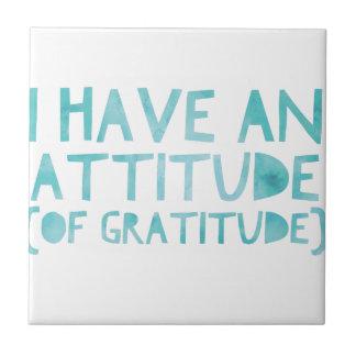 Azulejo De Cerámica Detox AA de la recuperación de la gratitud de la
