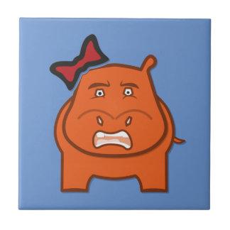 Azulejo De Cerámica Dianne expresivo juguetón