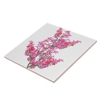 Azulejo De Cerámica Diseño floral lindo colorido