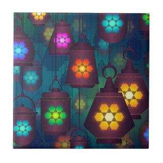Azulejo De Cerámica Diseño medio-oriental de las linternas árabes