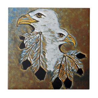 Azulejo De Cerámica Dos Eagles