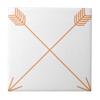 Azulejo De Cerámica Dos flechas
