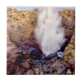 Azulejo De Cerámica Ducha del agua debido a las ondas
