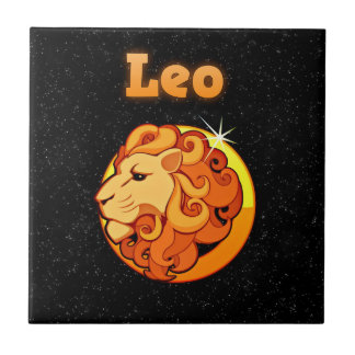 Azulejo De Cerámica Ejemplo de Leo