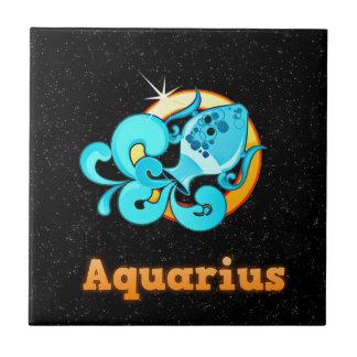 Azulejo De Cerámica Ejemplo del acuario