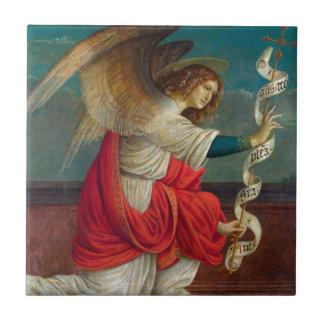 Azulejo De Cerámica El ángel Gabriel - Gaudenzio Ferrari