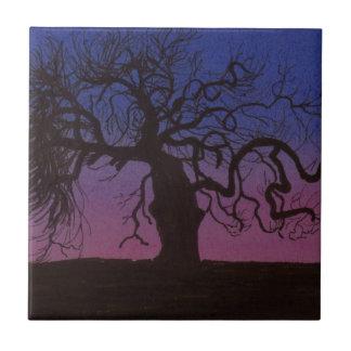 Azulejo De Cerámica El árbol Gnarly