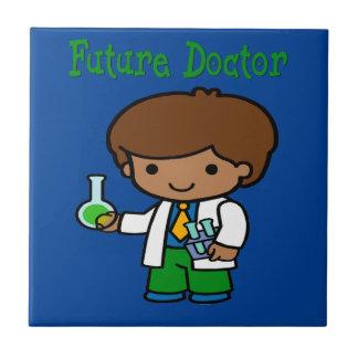 Azulejo De Cerámica El doctor futuro Dark Skin