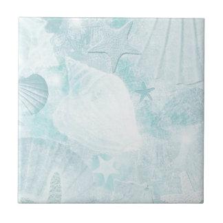 Azulejo De Cerámica El mar sutil descasca arte gráfico