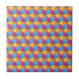 Azulejo De Cerámica El modelo I del cubo