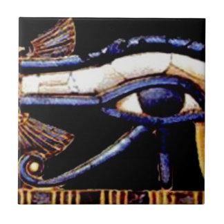 Azulejo De Cerámica El ojo egipcio de Horus