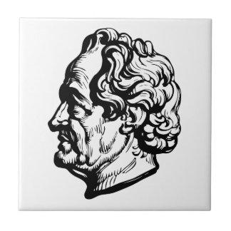 Azulejo De Cerámica Escritor alemán Goethe