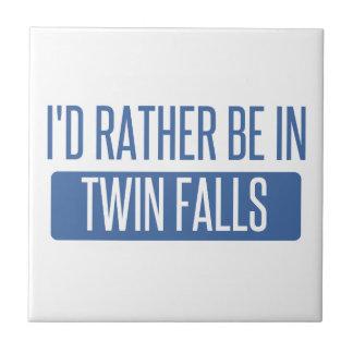 Azulejo De Cerámica Estaría bastante en caídas gemelas