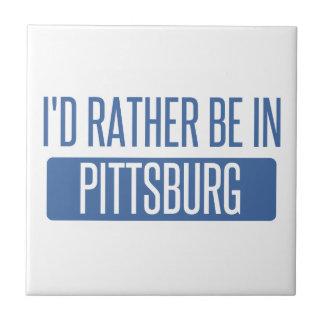 Azulejo De Cerámica Estaría bastante en Pittsburg