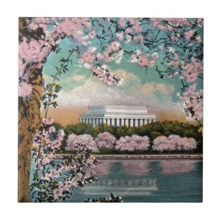 Azulejo De Cerámica Flores de cerezo