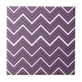 Azulejo De Cerámica Galones púrpuras de la majestad