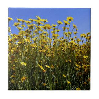 Azulejo De Cerámica Girasoles de los Wildflowers