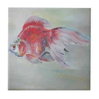 Azulejo De Cerámica Goldfish de Ryukin