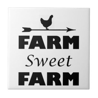 Azulejo De Cerámica granja del dulce de la granja