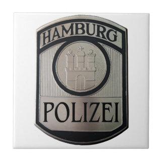 Azulejo De Cerámica Hamburgo Polizei