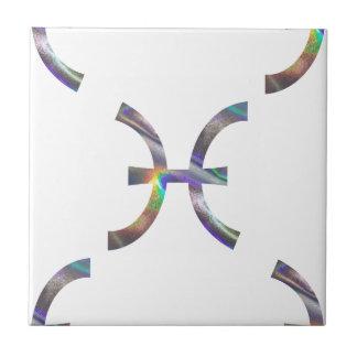 Azulejo De Cerámica holograma Piscis