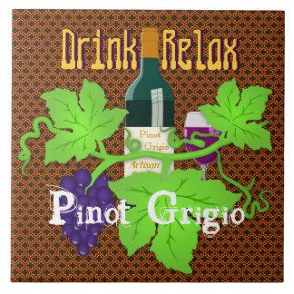 Azulejo De Cerámica La bebida de la mezcla del artesano se relaja