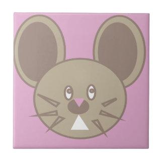 Azulejo De Cerámica La forma hizo el ratón