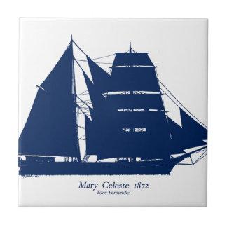 Azulejo De Cerámica La Maria Celeste 1872 por los fernandes tony