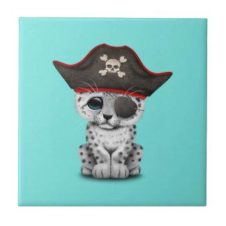 Azulejo De Cerámica La onza linda Cub del bebé piratea