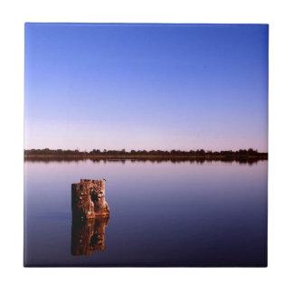 Azulejo De Cerámica Lago reservado