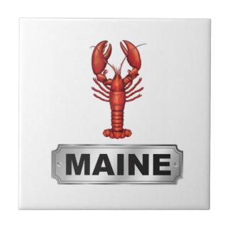Azulejo De Cerámica Langosta de Maine
