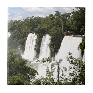Azulejo De Cerámica Las cataratas del Iguazú, la Argentina, Suramérica