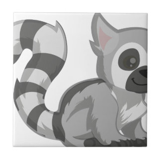 Azulejo De Cerámica Lemur