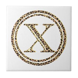 Azulejo De Cerámica Leopardo X