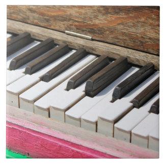 Azulejo De Cerámica Llaves 2 del piano