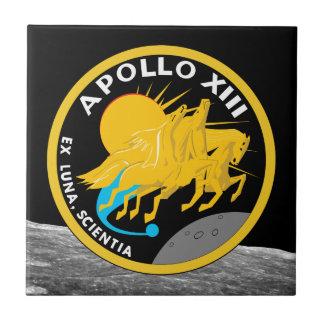 Azulejo De Cerámica Logotipo del remiendo de la misión de la NASA de