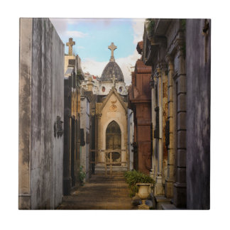 Azulejo De Cerámica Luz de la tarde en el cementerio de Recoleta