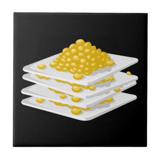 Azulejo De Cerámica Maíz de la comida de la interferencia de la