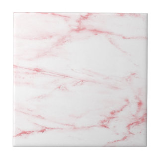 Azulejo De Cerámica Mármol rosado clásico