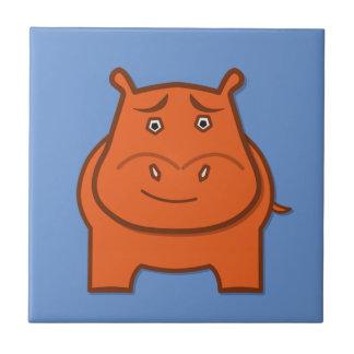 Azulejo De Cerámica Mascota expresivo juguetona del bondswell de Jack