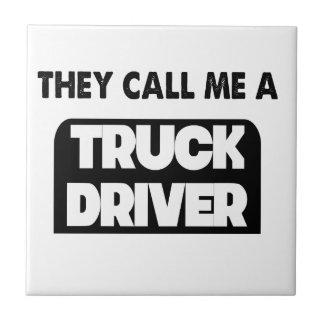 Azulejo De Cerámica me llaman un conductor de camión